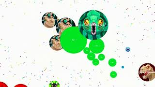 Harun Agar.io Solo&Team Game Play
