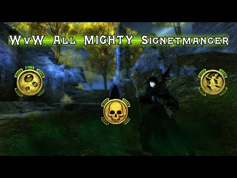 GW2 - [BUILD] WvW All MIGHTY Signetmancer | Necromancer