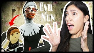 THE EVIL NUN TOOK MY LITTLE SISTER! - Evil Nun (Mobile Horror Game)