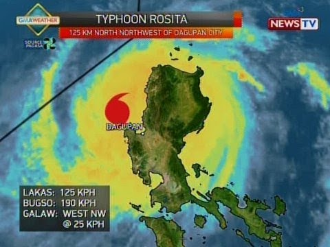 QRT: Weather update as of 5:59 p.m. (Oct. 30, 2018)