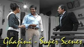 Ghajini - Super Scenes | Suriya | Asin | Nayanthara | Harris Jayaraj | A. R. Murugadoss