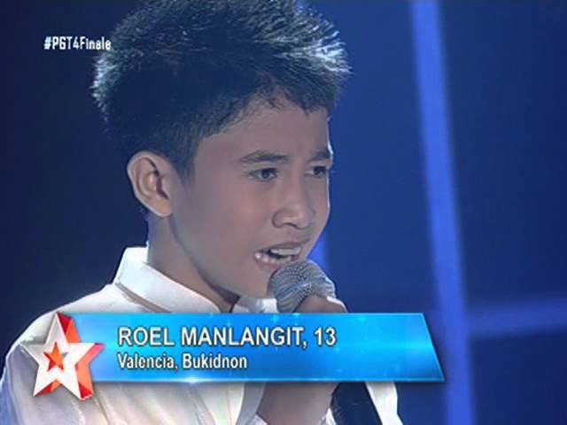ROEL MANLANGIT of PILIPINAS GOT TALENT 4 (Grand Finals)