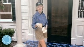 Throwback Thursdays: How to Stencil-Paint a Porch - Martha Stewart