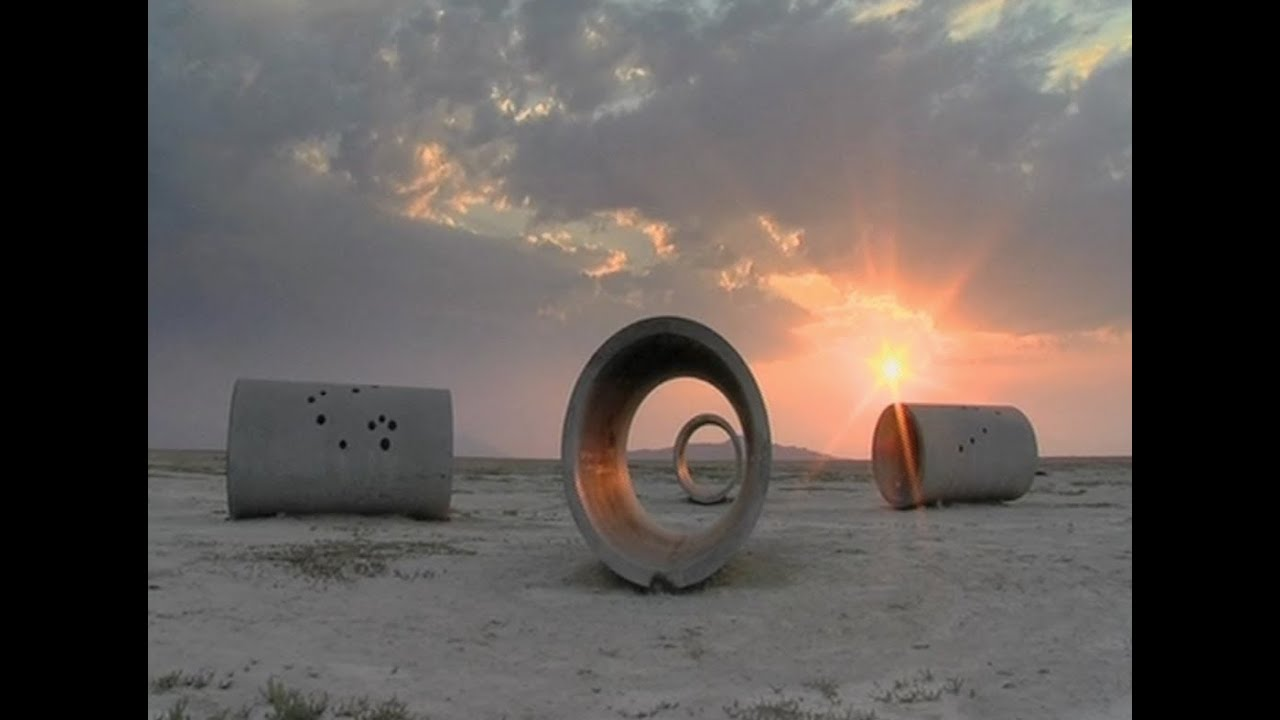 Nancy holt sun tunnels youtube for What is a sun tunnel