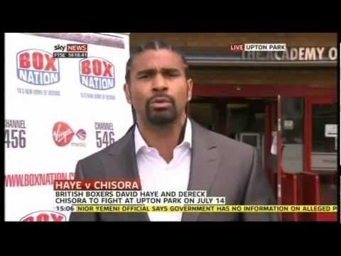 Haye 'My Decision Was To Render This Idiot Unconscious'