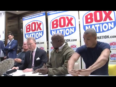 Full Chris Eubank Jr & Billy Joe Saunder on Skype Press Conference