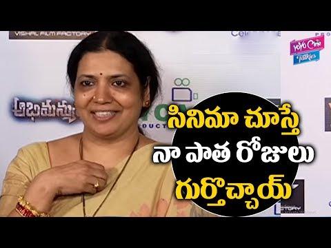 Jeevitha Rajasekhar Review On Abhimanyudu Movie | Vishal | Samantha | Tollywood | YOYO Cine Talkies