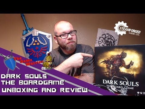 Dark Souls The Board Game Unboxing and Review-Kickstarter Version