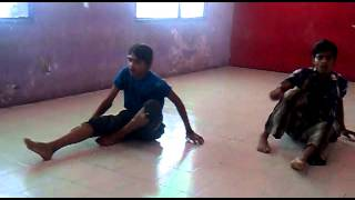 Neerajkhare and Himanshu dance haal e dil, I L I Dance Academy in M G Road Indore