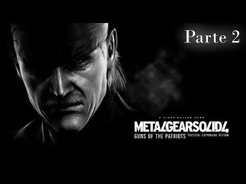 Metal Gear Solid 4 Guns Of The Patriots Walkthrough - Parte 2 - Español (ps3 Gameplay Hd) video