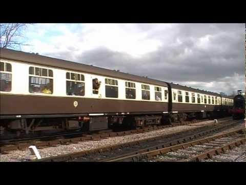West Somerset Railway - 'SPRING STEAM GALA' (GWR175 - The 'Standard' Revolution) 27/03/2010