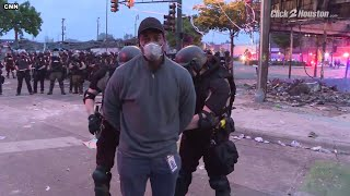 CNN reporter covering Minneapolis riots arrested on live television