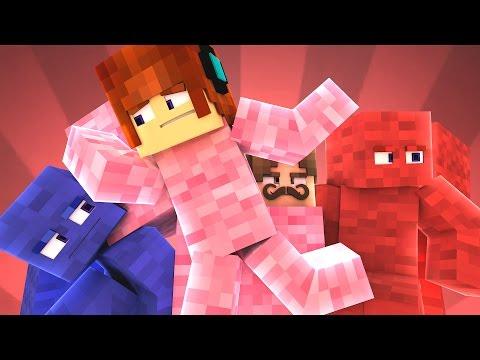 Minecraft Animado #22 : DISFARCE ERRADO NO ESCONDE-ESCONDE !! ( Minecraft Animation )