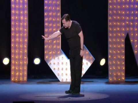 Komik Ricky Gervais v NY