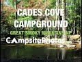 Cades Cove Campground, Great Smoky Mountains National Park