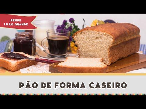 Pão de Forma Caseiro Fácil - Receitas de Minuto #203
