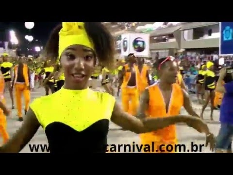 Popular Dance of Brazil in HD Video Rio de Janeiro Carnival 2014