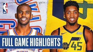 THUNDER at JAZZ | FULL GAME HIGHLIGHTS | December 9, 2019