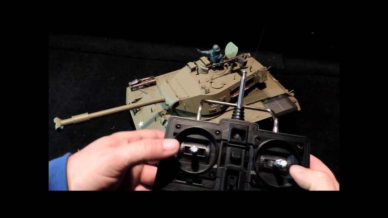 Sherman M4A3 Tank, Waltersons Heng Long 1/16th RC