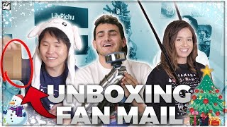 WE GOT GLITTER BOMB PRANKED | OFFLINETV HOLIDAY FAN UNBOXING ft. TOAST, FED, POKI, SCARRA, LILY