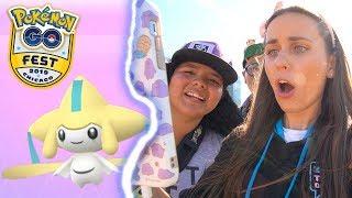 FULL JIRACHI QUEST LINE @ Pokémon GO Fest Chicago 2019 #Sponsored #Niantic