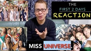 Miss Universe First 2 Days: Surprises,Disappointments,Winners!