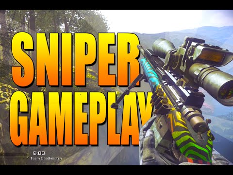 Call Of Duty: Ghosts Sniper Ffa Gameplay On Prison Break - Call Of Duty Ghost Multiplayer Gameplay video