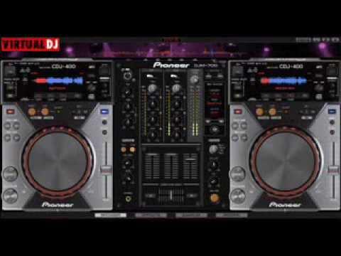 CDJ 1000 MK3 + DJM 800 4CH Скины для Virtual DJ скачать бесплатно.