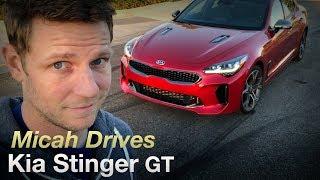 Micah Drives a Kia Stinger GT