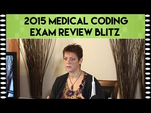 2015 Medical Coding Exam Review Blitz Module 1 | CPC Exam Review