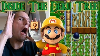 INSIDE THE DEKU TREE - Soy's Ocarina of Time Moment | Mario Maker Madness!