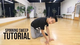 How to Breakdance: Spinning Sweeps | Flow Basics