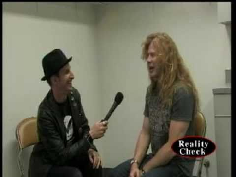 Dave Mustaine(Megadeth) on Reality Check TV (2010)