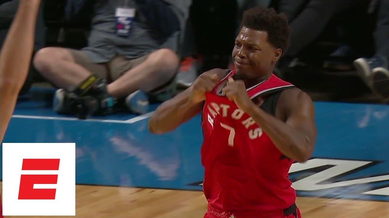 Kyle Lowry ejected, Kawhi Leonard flashes moves in Raptors vs Nets | NBA Preseason Highlights