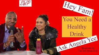 Angela Yee Interview - Hey Fam! You need a Healthy Juice Drink