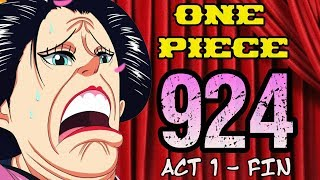 """One Piece Chapter 924 Review """"Caged Monkey"""" ACT 1 - FIN"""