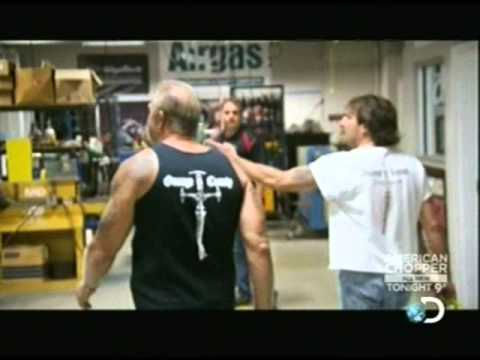 American Chopper Jason's Melt Down