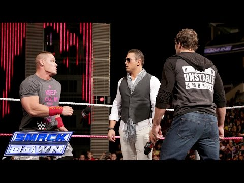 miz Tv With Special Guests John Cena And Dean Ambrose: Smackdown, Oct. 10, 2014 video