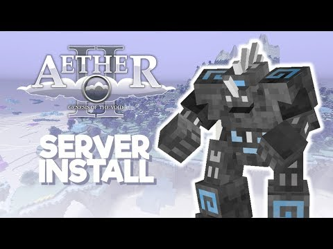 How to Install Minecraft Aether 2 Server - 1.7.4