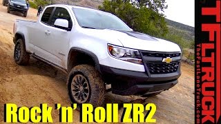 2017 Chevy Colorado ZR2 Off-Road Review: Desert Runner AND Rock Crawler?