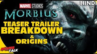 MORBIUS : Trailer Breakdown & Origins [Explained In Hindi]