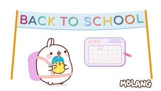 Molang Compilation - MOLANG is GOING BACK TO SCHOOL #2 - Cartoon for Kids