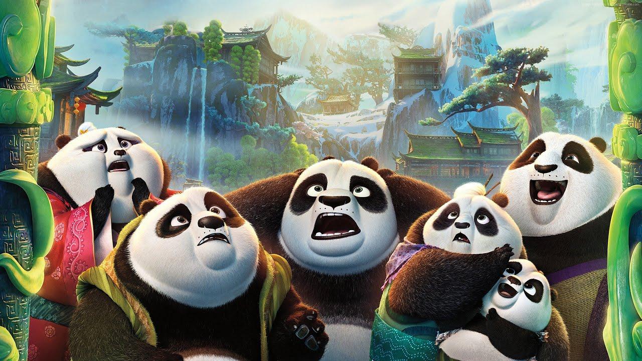 Мультфильм кунфу панда новые год
