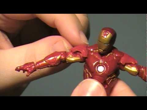 Iron Man 2 Movie Series: (3.75 inch scale) Mark IV Armor Review