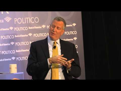 Bill de Blasio on Hillary Clinton, Elizabeth Warren and Rand Paul