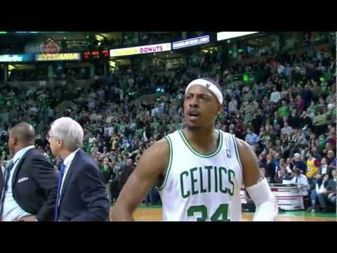 Boston Celtics' 8-0 run vs Los Angeles Lakers in 35 seconds (UNCUT)