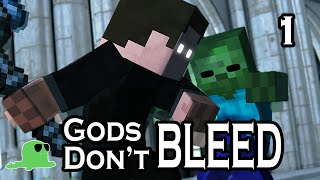 """Gods Don't Bleed"" - EPIC FIGHT Minecraft Animation"