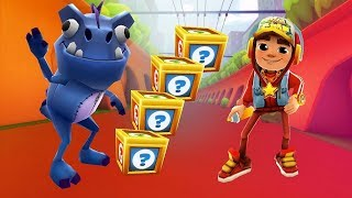 Subway Surfers Welcome to London 2018 - Jake Star vs Dino Gameplay| Cartoons Mee