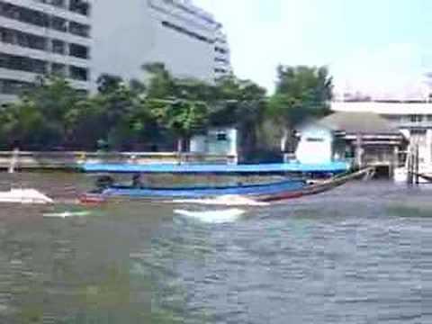 Longtail Boats in Bangkok