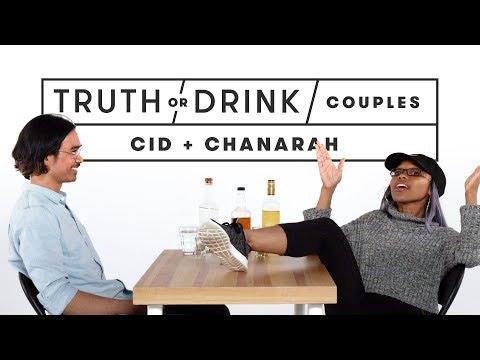 Couples Play Truth or Drink (Chanarah & Cid) | Truth or Drink | Cut